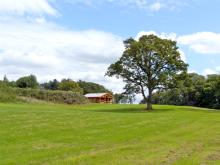 Cedar Log Cabin, Brynallt Country Park
