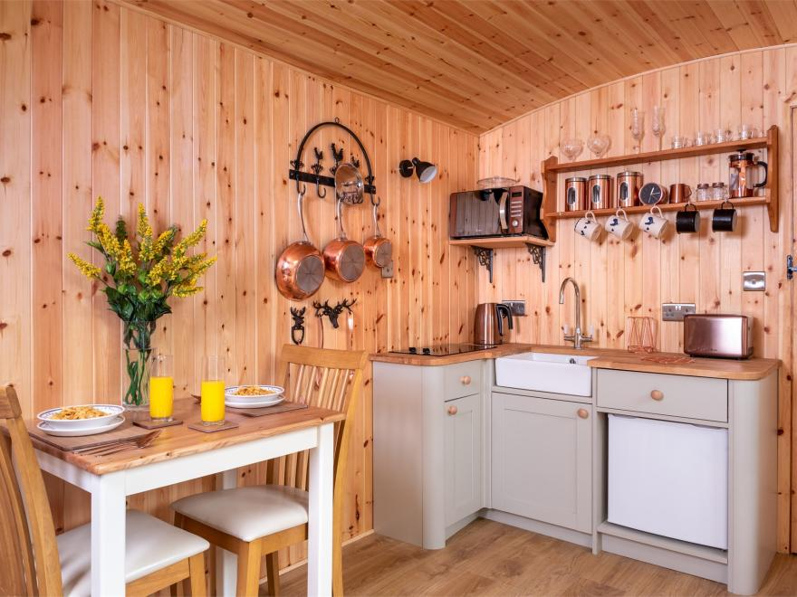 Log Cabin in Mid Wales