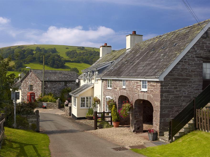 Barn in Mid Wales
