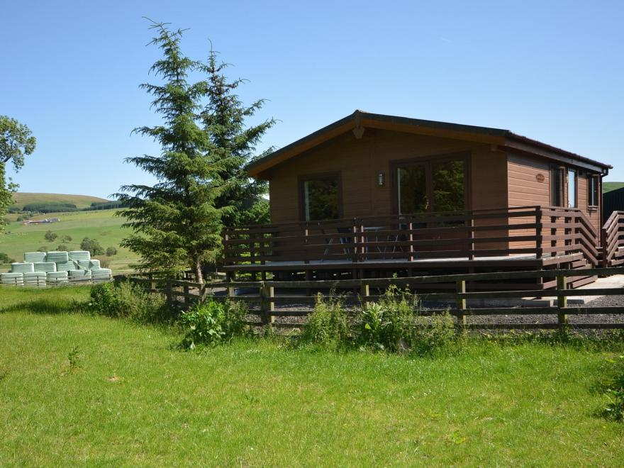 Log Cabin near Ayr (18mls SE)
