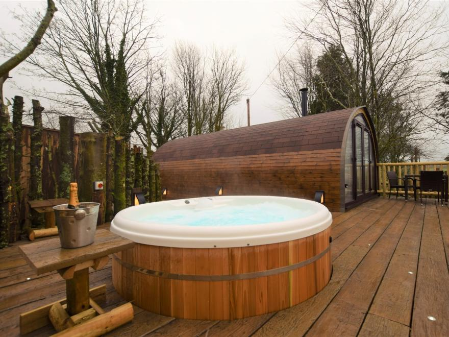 Log Cabin near Totnes (5.5mls W)
