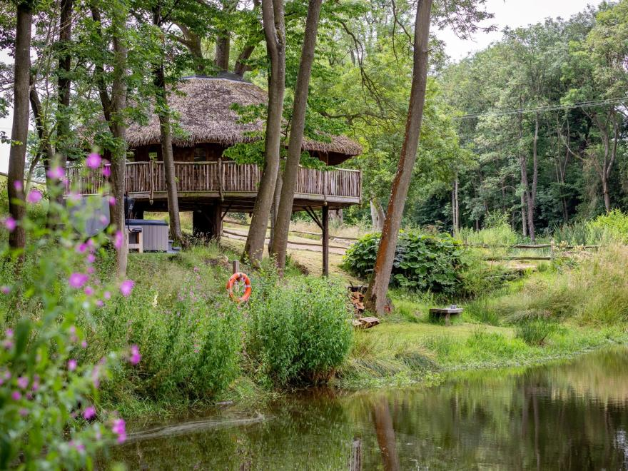Log Cabin near Tenbury Wells (3.5mls SE)