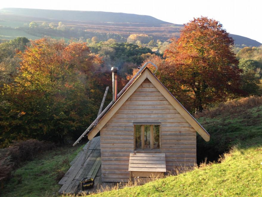 Log Cabin near Crickhowell (3mls N)
