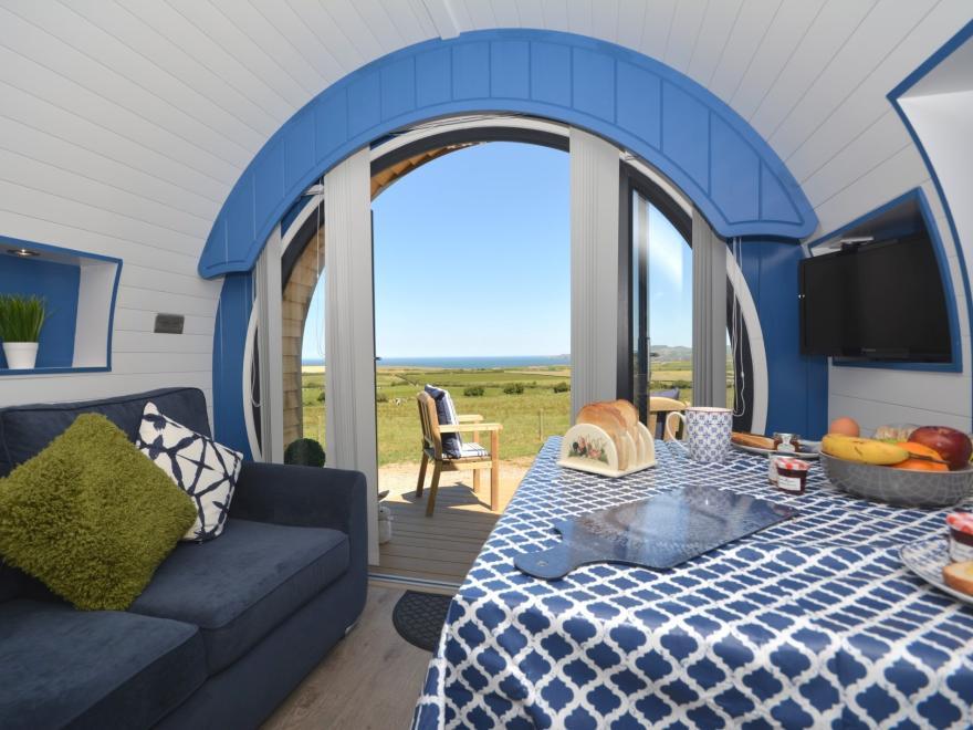 Log Cabin near St Davids (7.5mls NE)
