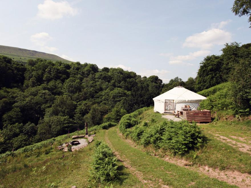 Log Cabin near Crickhowell (3mls NE)
