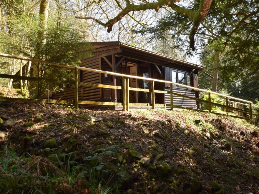Log Cabin near Skelwith Bridge