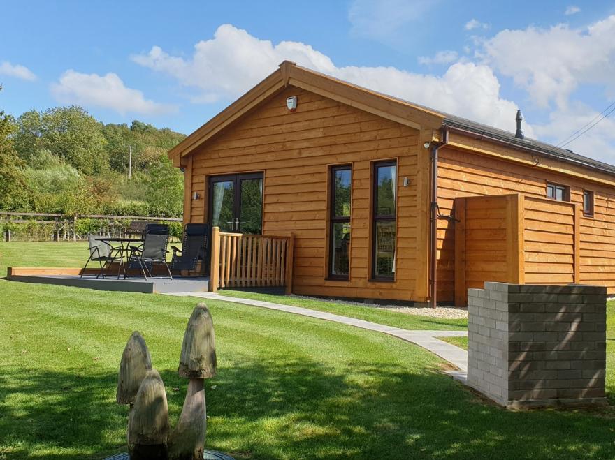 Log Cabin near Moorlinch