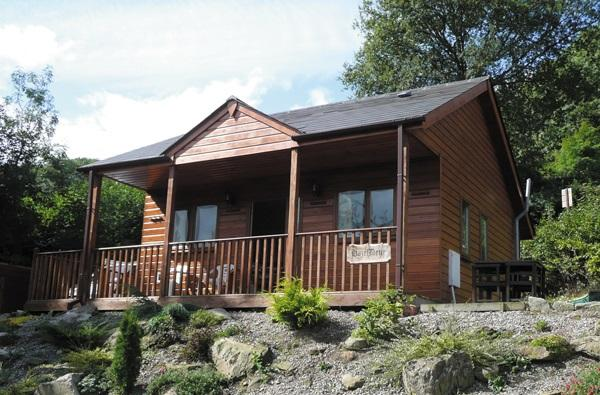 Log Cabin near Bewdley (5.5mls NW)
