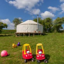 Family Yurts - Dino District
