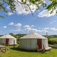 Family Yurts - The Enchanted Wood